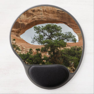 Wilson Arch with Tree - Utah Gel Mouse Pad