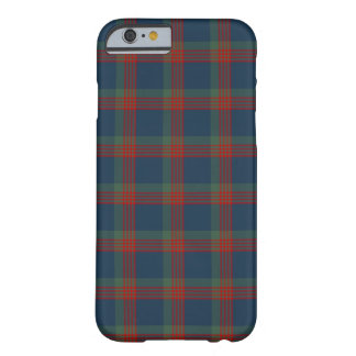 Wilson Clan Blue, Green and Red Tartan Barely There iPhone 6 Case