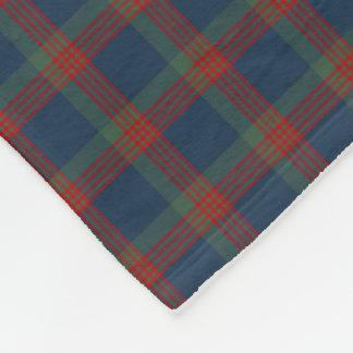 Wilson Clan Blue, Green and Red Tartan Fleece Blanket