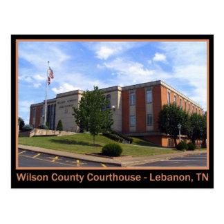 Wilson County Courthouse - Lebanon, TN Postcard