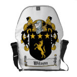 Wilson Family Crest Courier Bags
