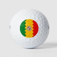 Wilson Golf Ball with flag of Los Angeles, USA