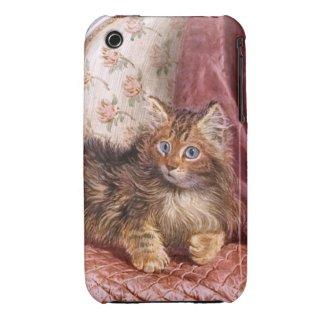 Wilson Hepple: Brown Kitten on an Armchair