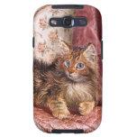 Wilson Hepple: Gatito de Brown en una butaca Galaxy S3 Coberturas