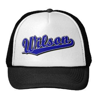 Wilson in Blue Trucker Hat