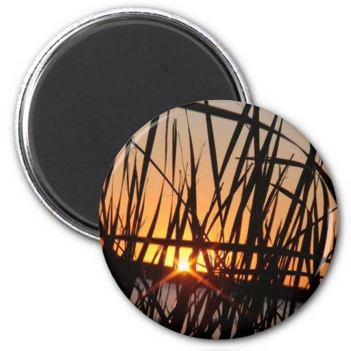 WILSON LAKE SUNSET REFRIGERATOR MAGNET