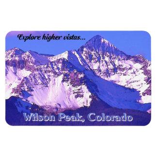 Wilson Peak ~ Telluride, Colorado Rectangular Photo Magnet