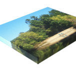Wilson Pond Island Gallery Wrapped Canvas