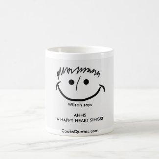 Wilson says Inspirational Mug AHHS