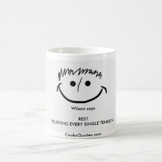 Wilson says Inspirational Mug REST