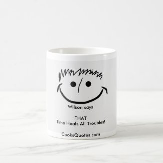 Wilson says Inspirational Mug THAT
