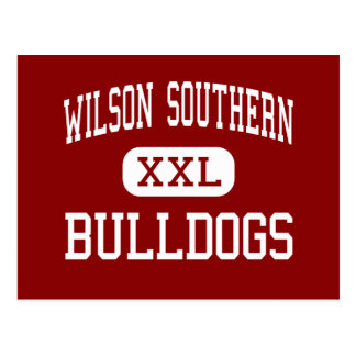 Wilson Southern - Bulldogs - Junior - West Lawn Postcard