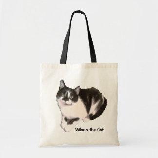 WILSON THE CAT TOTE BAG