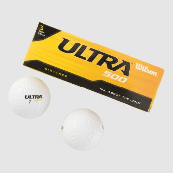 Wilson Ultra 500 Distance Golf Balls  (3pack) by CREATIVEBRANDS at Zazzle