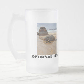 Wilson's Prom Whiskey Beach Frosted Glass Beer Mug