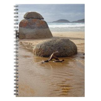 Wilson's Prom Whiskey Beach Spiral Notebook