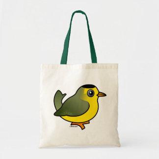Wilson's Warbler Budget Tote Bag