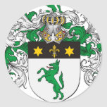 Wilsoun Family Crest - Wilsoun Coat of Arms Classic Round Sticker
