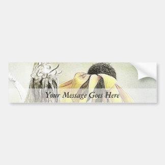 Wilted Black Eyed Susans Bumper Sticker