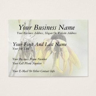 Wilted Black Eyed Susans Business Card