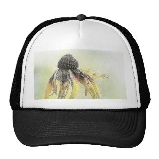 Wilted Black Eyed Susans Hat