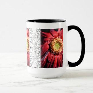 Wilting Red Daisy Mug