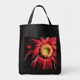 Wilting Red Daisy Tote Bag