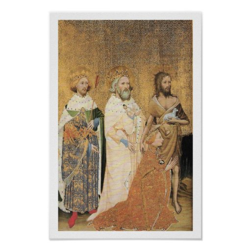 Wilton Diptych (Left Side) Posters