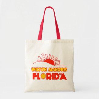 Wilton Manors, Florida Canvas Bag