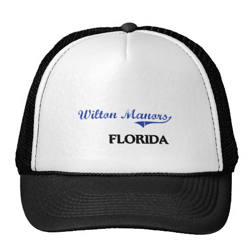 Wilton Manors Florida City Classic Trucker Hats