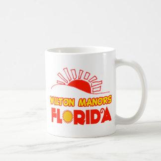 Wilton Manors, Florida Classic White Coffee Mug