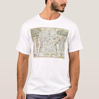 Wiltshire, engraved by Jodocus Hondius T-Shirt