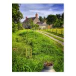 Wiltshire Farm Scene postcard