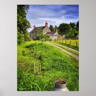 Wiltshire Farm Scene print