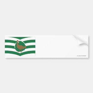 Wiltshire Flag Bumper Sticker