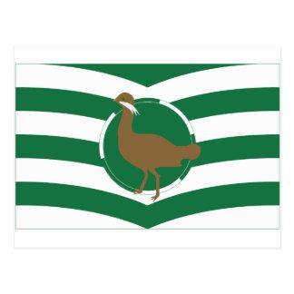 Wiltshire Flag Postcard