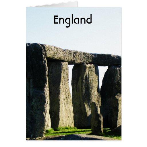Wiltshire Inglaterra Tarjeta De Felicitación