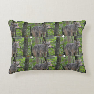 Wily Wolf Accent Pillow