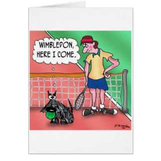Wimbledon, Here I Come Greeting Card