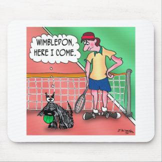 Wimbledon, Here I Come Mouse Pad