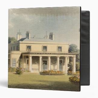 Wimbledon Park, from R. Ackermann's (1764-1834) 'R Binder