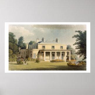 Wimbledon Park, from R. Ackermann's (1764-1834) 'R Poster
