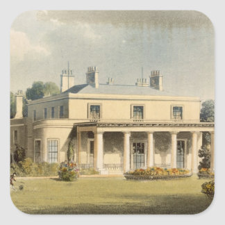 Wimbledon Park, from R. Ackermann's (1764-1834) 'R Square Sticker