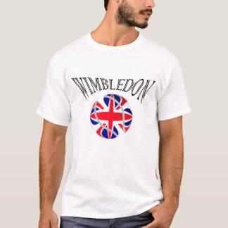 Wimbledon tennis UK flag tshirt