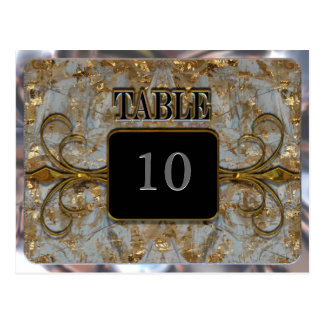 Wimbley Victorian Table Number Card Postcard