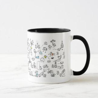 Wimmel birds mug