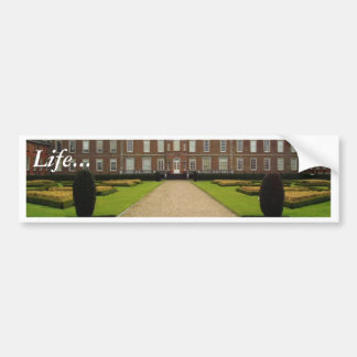 Wimpole Hall Cambs Building Bumper Stickers