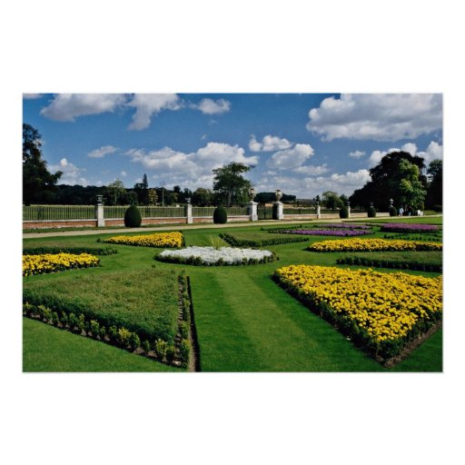 Wimpole Hall Gardens  flowers Posters