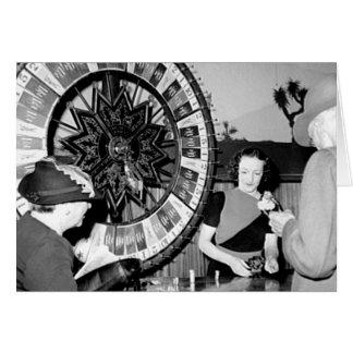 Win A Fortune Vintage Las Vegas Casino Card