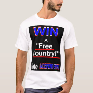 Win a Free Country Vote Independent! T-Shirt